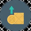 Growth Increase Dollar Icon