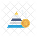 Growth Graph Bitcoin Icon