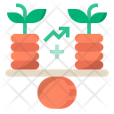 Growth Stability Business Icon