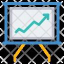 Growth Graph Board Icon