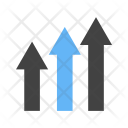 Growth Inflation Icon