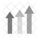 Growth Inflation Graph Icon