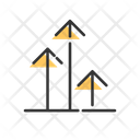 Arrow Up Develop Icon