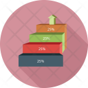 Growth Percentage Profit Icon