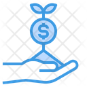 Growth Investment Money Icon
