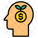 Growth Human Finance Icon