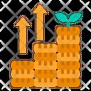 Monney Cash Growth Icon