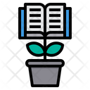 Growth Learn Knowledge Icon