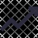 Growth Graph Analytics Icon