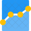 Growth Fluctuation Infographic Icon