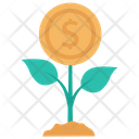 Growth Increase Income Icon