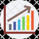 Growth Chart Analytics Icon