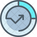 Growth Up Analysis Icon