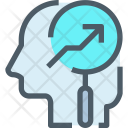 Growth Human Mind Icon