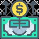 Growth Money Banking Icon
