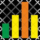 Growth Maximum Gistogram Icon