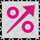 Growth Percent Graph Icon