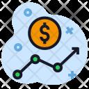 Money Dollar Growth Icon