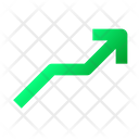 Stats Graph Grow Icon
