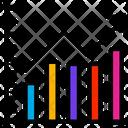 Positive Bar Chart Data Information Icon