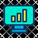 Chart Bar Graph Analysis Icon