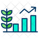 Bar Graph Analysis Growth Graph Icon