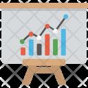 Business Graph Graphic Icon