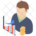 Growth Analyst Icon