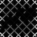Arrow Right Graph Icon