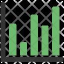 Arrow Bar Graph Icon