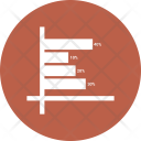 Growth Linechart Timeseries Icon