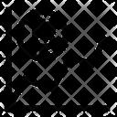 Graph Chart Bitcoin Icon