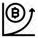 Chart Bitcoin Graph Icon