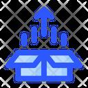 Box Growth Market Icon