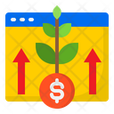 Growth Money Business Icon