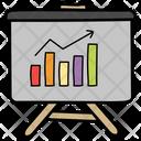 Statistics Infographic Graphical Representation Icon
