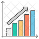 Growth Chart Increase Graph Sales Growth Icon