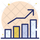Business Statistics Business Growth Business Increase Icon
