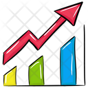 Growth Chart Business Analytics Graph Presentation Icon
