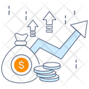 Growth Chart Graph Business Growth Icon