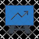 Growth Board Graph Icon
