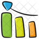 Growth Chart Business Growth Business Profit Icon