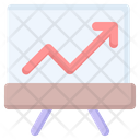 Growth Success Financial Icon