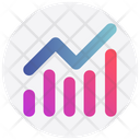 Graph Transaction Pie Chart Icon