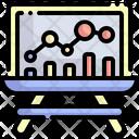Analysis Statistics Data Analytics Icon