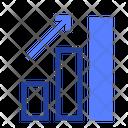 Rising Diagram Analytics Icon