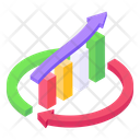 Growth Chart Business Analytics Business Growth Icon