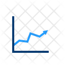 Growth Chart Infographic Growth Icon
