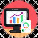 Data Analytics Growth Chart Web Analytics Icon