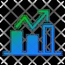 Growth Chart Statistics Graph Icon